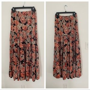 Blu Moon by Planet blue Maxi Skirt Size 1